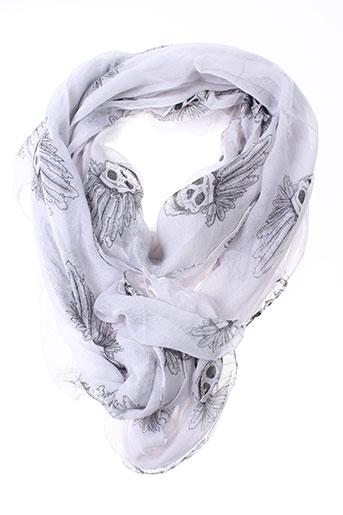 Foulard blanc INEL pour femme