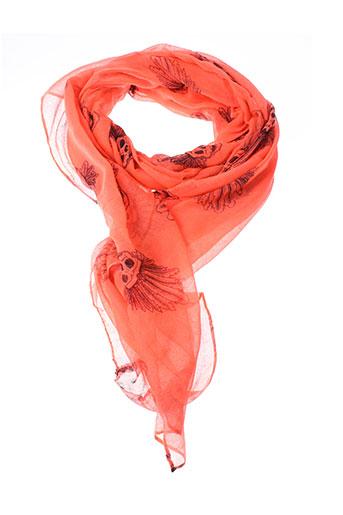 Foulard orange INEL pour femme