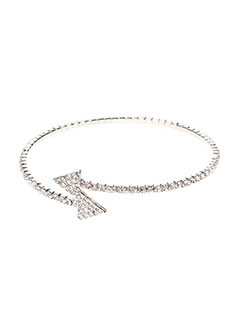 Bracelet Jonc gris INEL pour femme