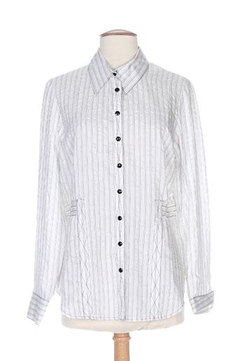 quattro chemises femme de couleur blanc