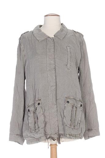 Veste casual gris FRIDAY pour femme