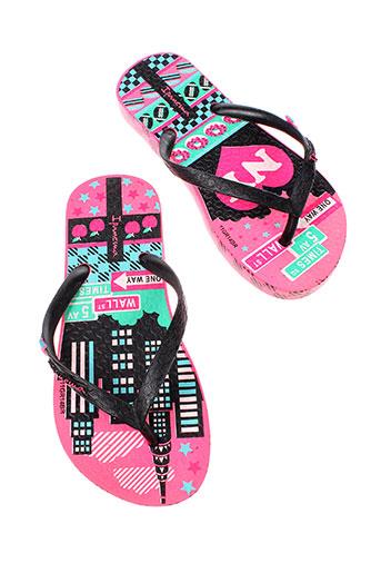 ipanema chaussures fille de couleur noir