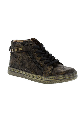 babybotte chaussures fille de couleur noir