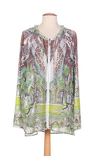 ananke vestes femme de couleur vert