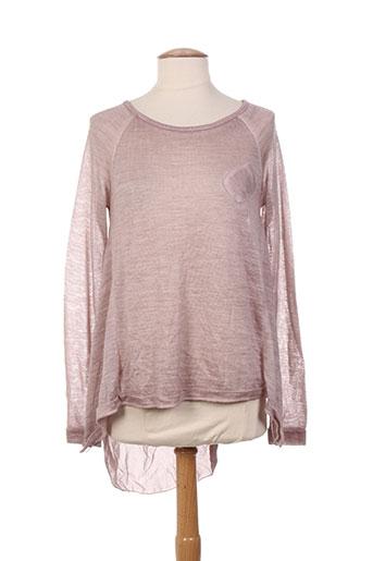 define pulls femme de couleur rose