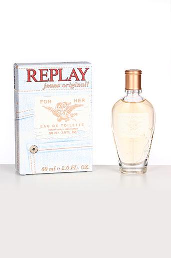 Parfum bleu REPLAY pour femme