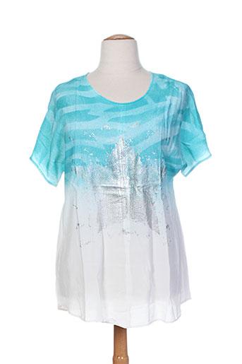 ciso chemises femme de couleur blanc