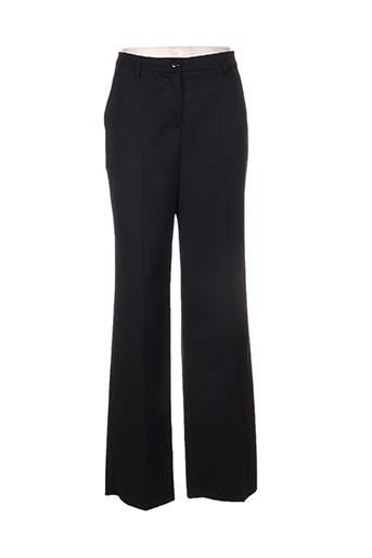 rodika pantalons femme de couleur noir