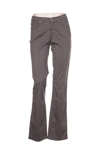 trussardi jeans pantalons femme de couleur gris