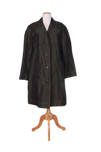 ramosport manteaux femme de couleur vert