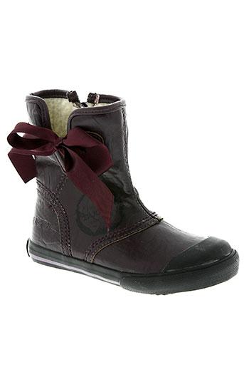 buggy chaussures fille de couleur violet