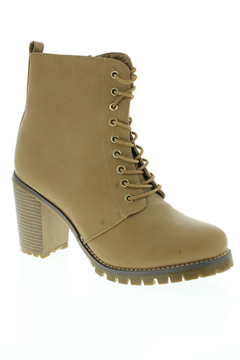 star miss chaussures femme de couleur beige