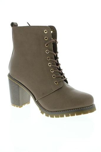star miss chaussures femme de couleur marron