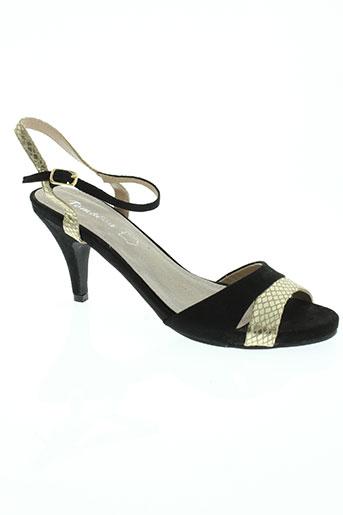 tom EFFI_CHAR_1 eva chaussures femme de couleur noir