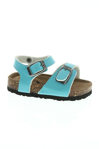 fr chaussures fille de couleur bleu