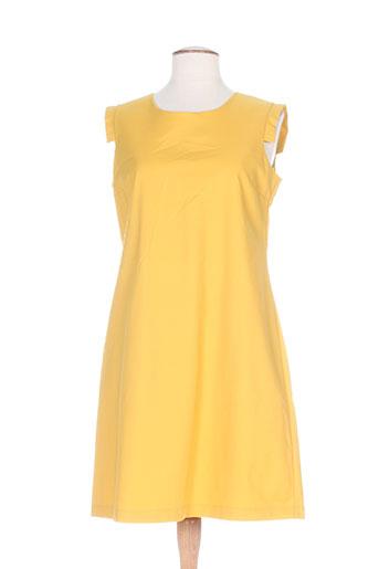 hippocampe robes femme de couleur jaune