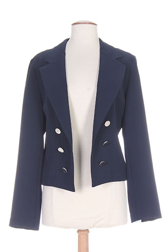 mariely vestes femme de couleur bleu