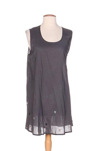 rhum raisin chemises femme de couleur gris
