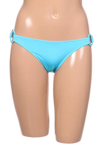 kiwi maillots de bain femme de couleur bleu