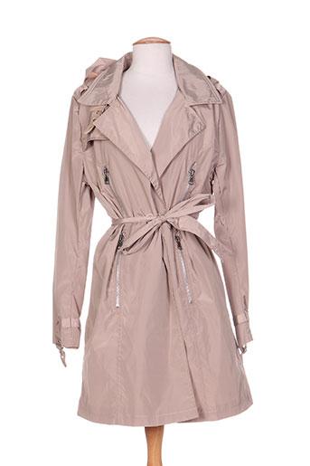 areline manteaux femme de couleur marron