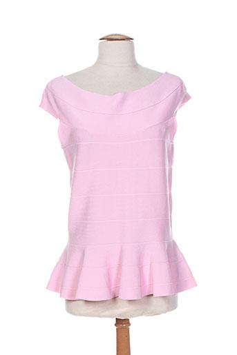 passioni chemises femme de couleur rose