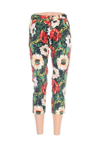 zoe la fee pantalons femme de couleur vert