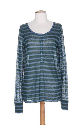 bruuns bazaar t-shirts femme de couleur vert