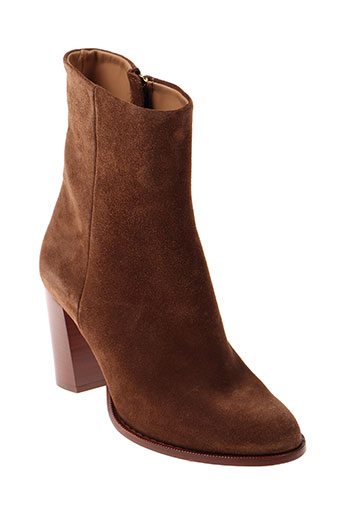 closed chaussures femme de couleur marron