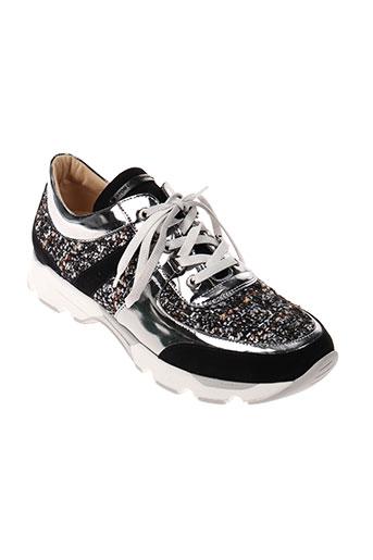 atos lombardini chaussures femme de couleur noir