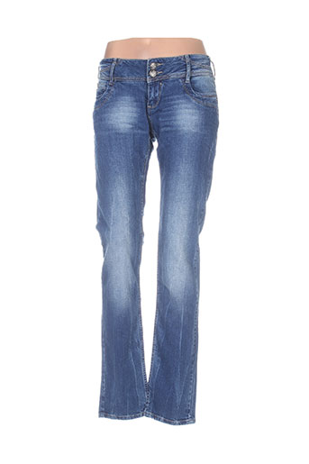 black de la rosa jeans femme de couleur bleu
