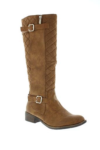 creamy moda chaussures femme de couleur marron