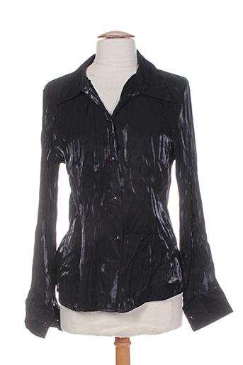 femmes je vous aime chemises femme de couleur noir