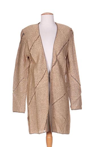 dikton's vestes femme de couleur beige