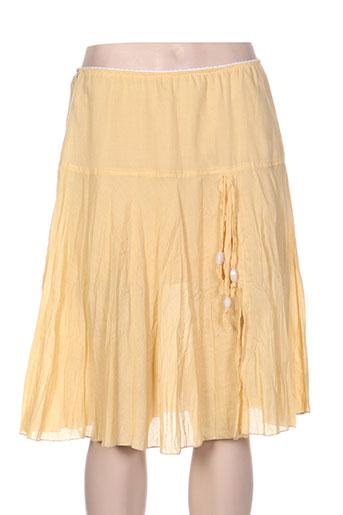 violette EFFI_CHAR_1 sarah jupes femme de couleur jaune
