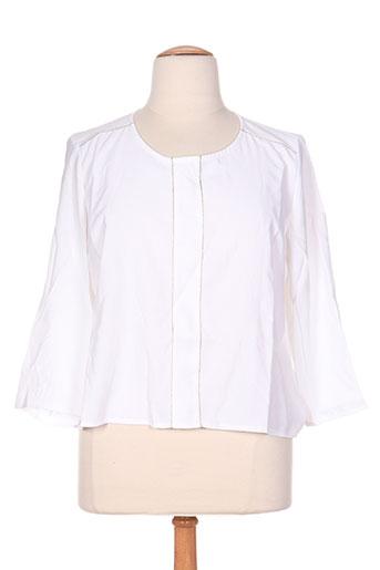 scottage chemises femme de couleur blanc