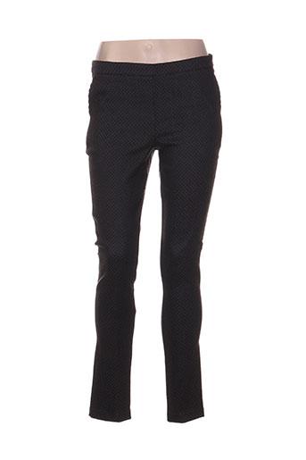 crazy wool pantalons femme de couleur gris