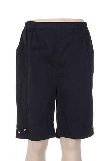 plurielles shorts / bermudas femme de couleur noir