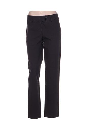 marc aurel pantalons femme de couleur gris