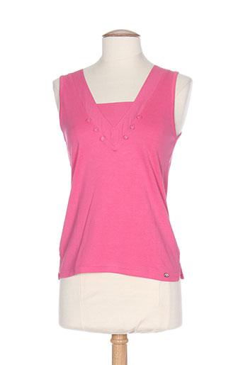 thalassa t et shirts et tops femme de couleur rose