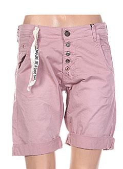 Produit-Shorts / Bermudas-Femme-ZHRILL