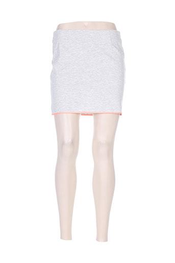 Jupe courte orange VILA pour femme
