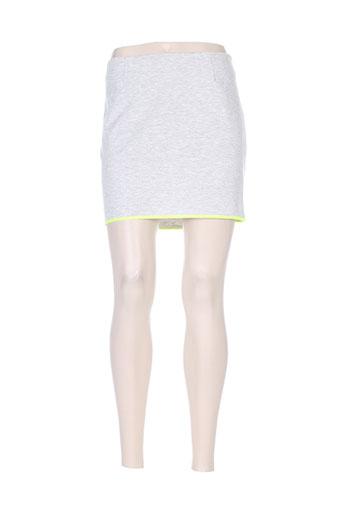 Jupe courte vert VILA pour femme