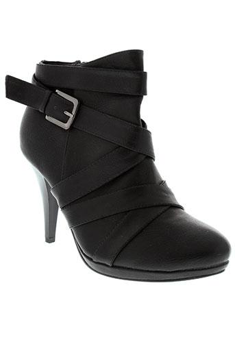 top et or boots femme de couleur noir