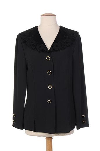 markwald vestes femme de couleur noir