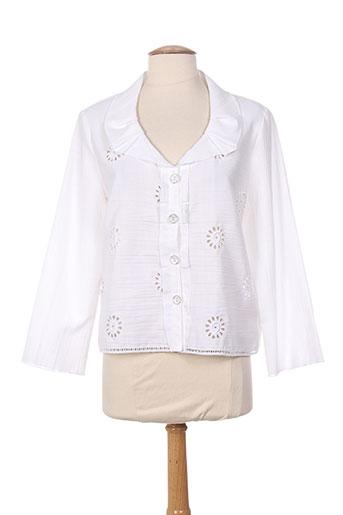quattro vestes femme de couleur blanc