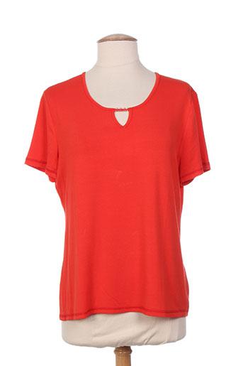 saint charles t-shirts femme de couleur rouge