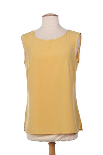 guitard chemises femme de couleur jaune