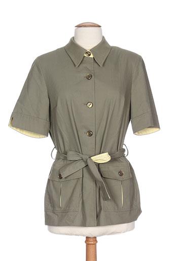 Veste casual vert LUCIA pour femme