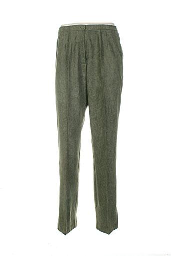 guitard pantalons femme de couleur vert