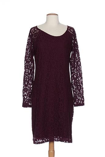 ichi robes femme de couleur violet